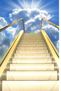moving stairway to heaven